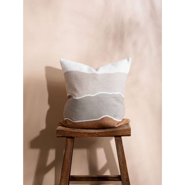 Sands Cushion. Australian Art Prints and Homewares. Green Door Decor. www.greendoordecor.com.au