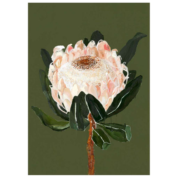 Settle Petal print by Grotti Lotti. Australian Art Prints. Green Door Decor. www.greendoordecor.com.au