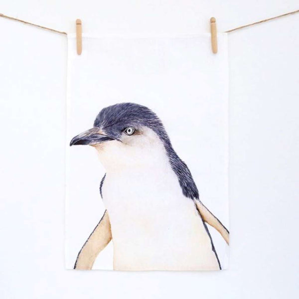 Tea Towel - Peggy the Penguin