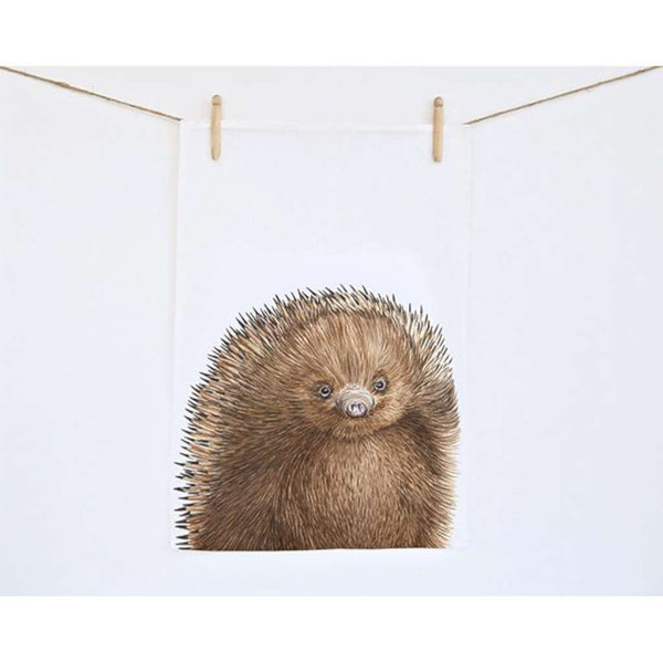 Tea Towel - Eddie the Echidna