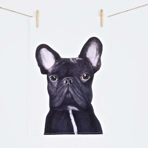 Tea Towel - Gilbert the French Bulldog