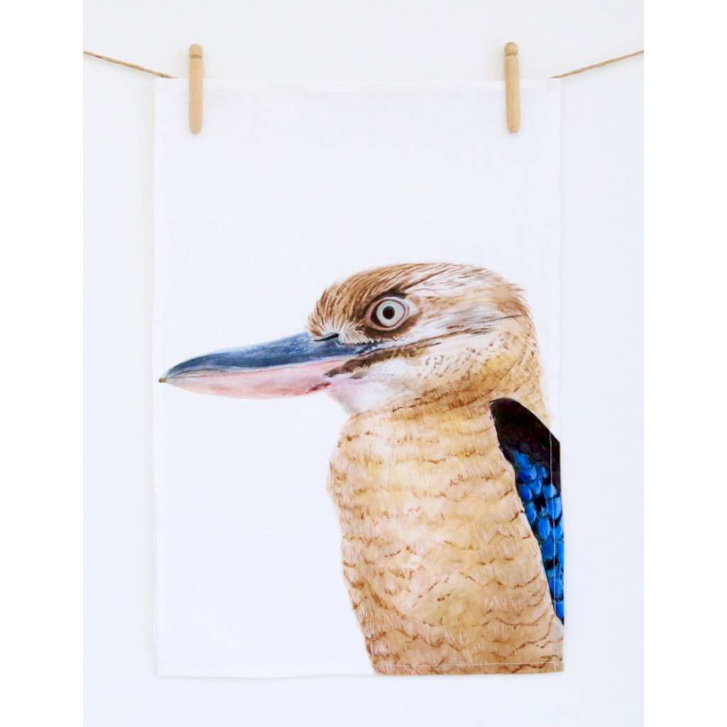 Tea Towel - Kenny the Kookaburra