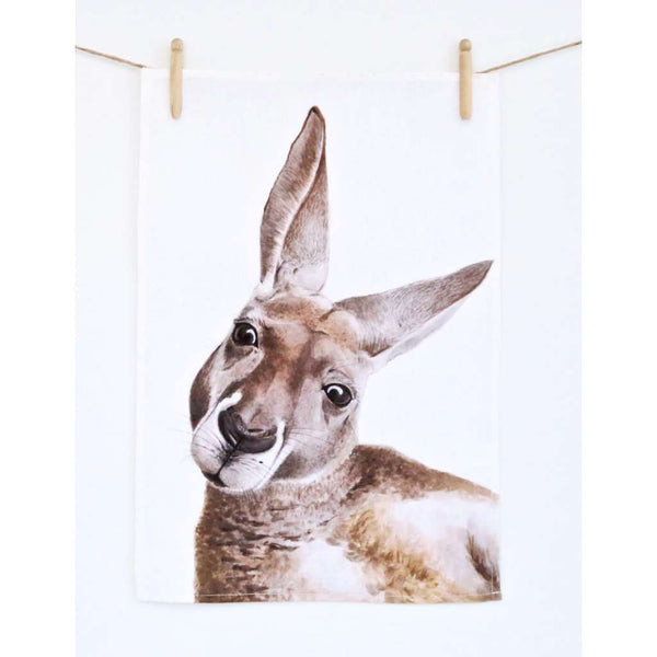 Tea Towel - Kylie the Kangaroo