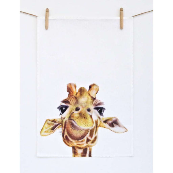 Tea Towel - Toby the Giraffe
