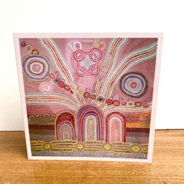 The Journey Home Card by Emma Stenhouse. Australian Art Prints and Homewares. Green Door Decor. www.greendoordecor.com.au