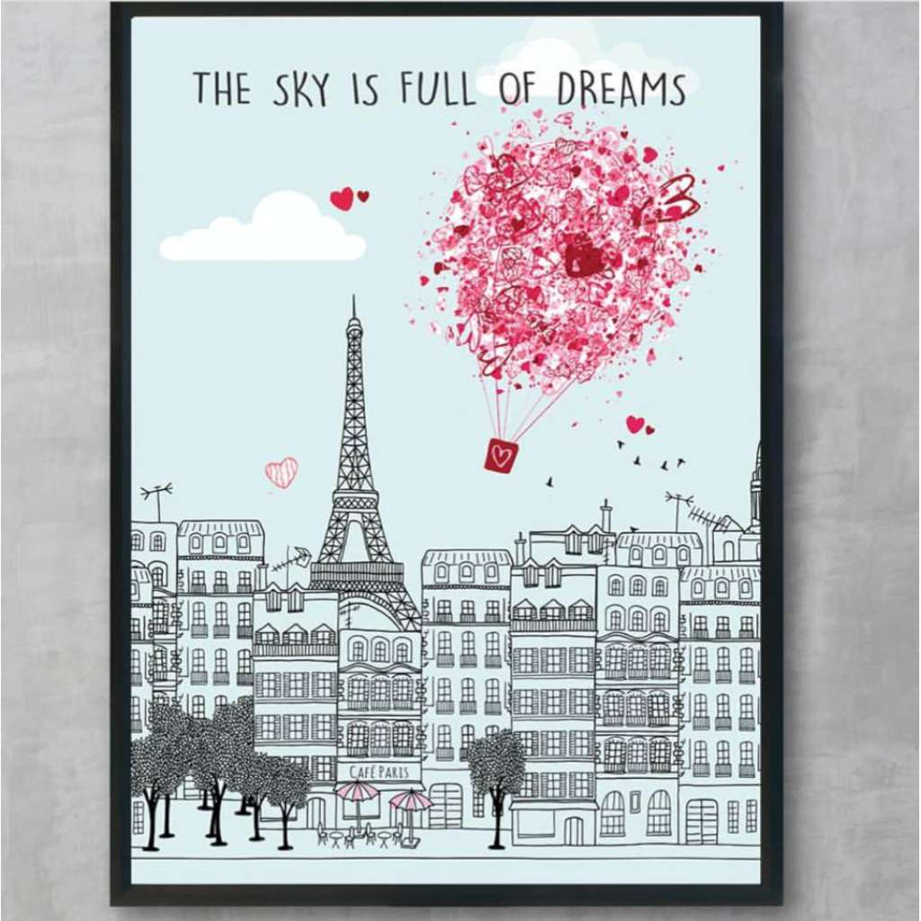 The Sky is Full of Dreams (Paris)