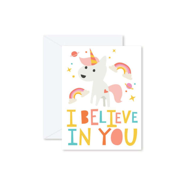 HMM Card - Unicorn - I Believe in You