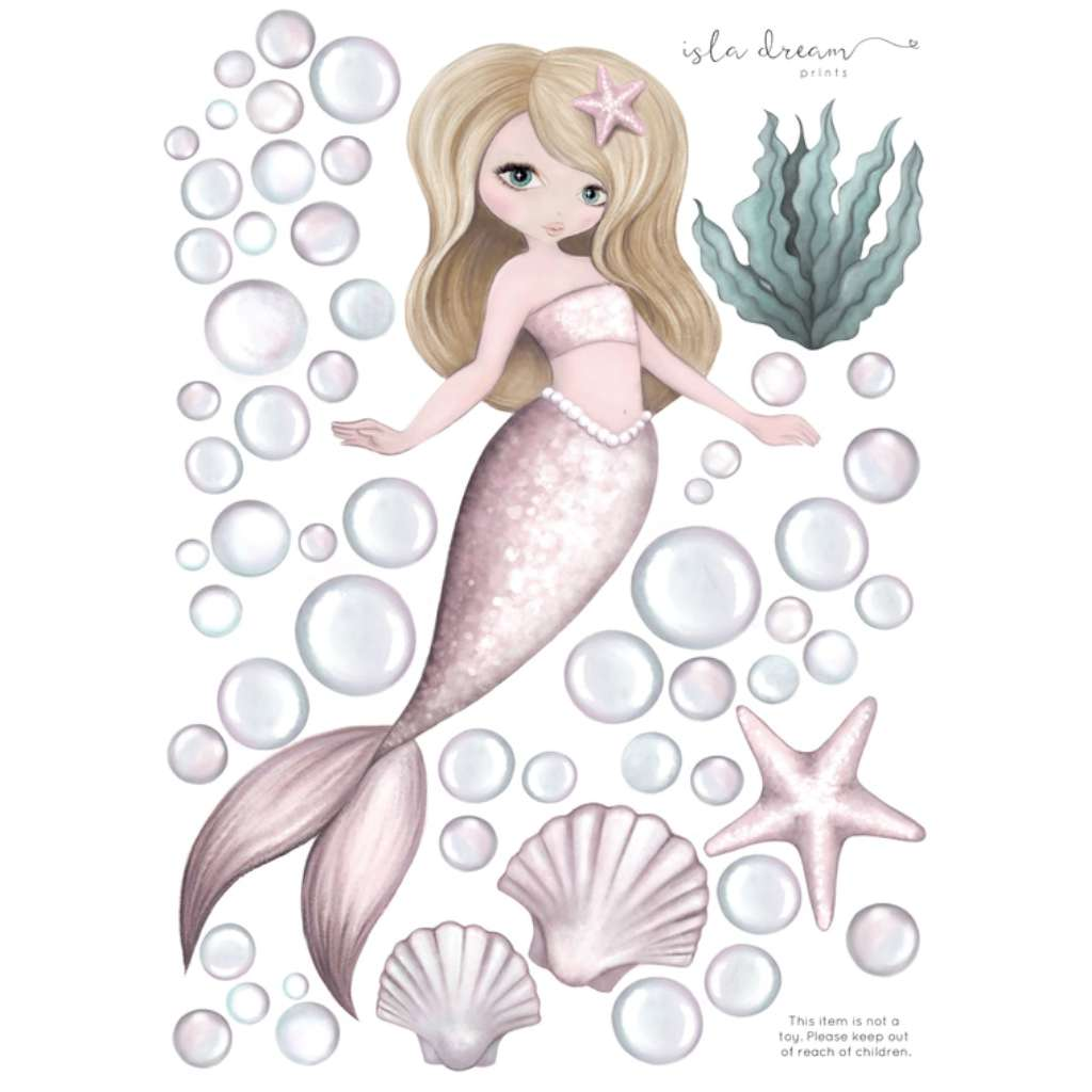 IDP Wall Decals - Audrina the Mermaid