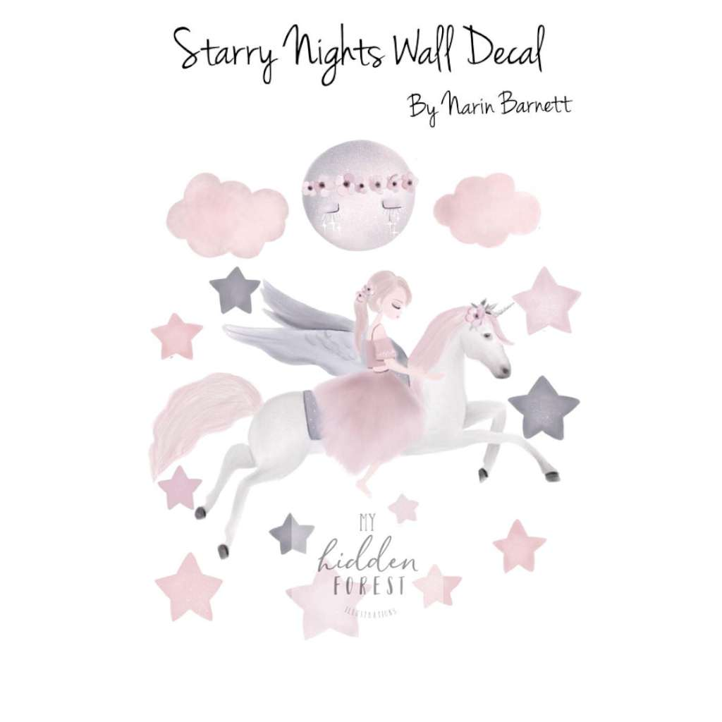 MHF Wall Decals - Starry Nights