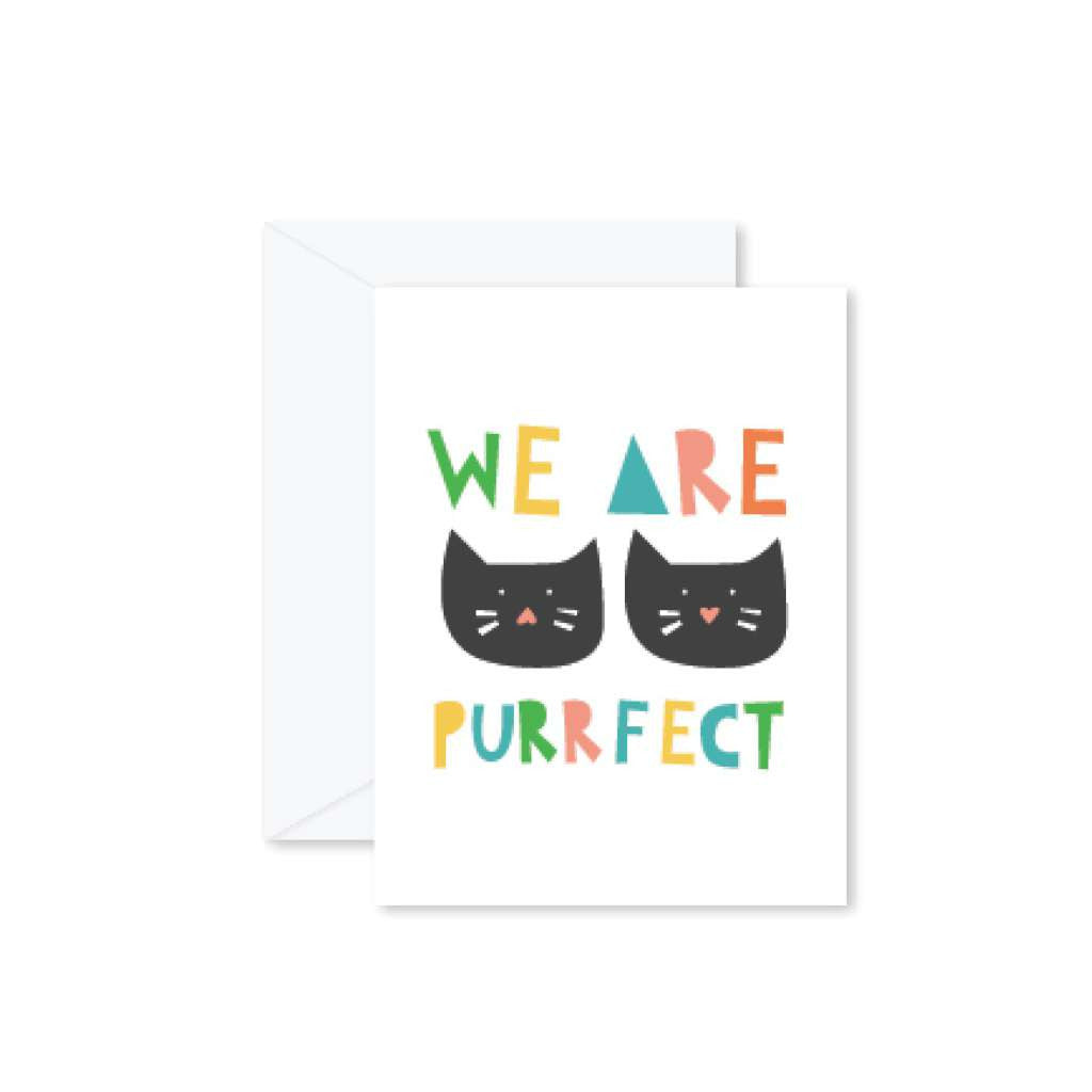 HMM Card - We Are Purrfect