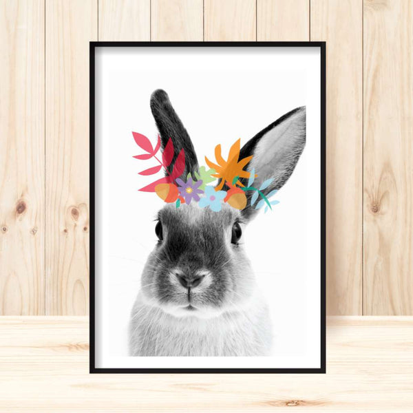 'Woodsy Rabbit' Print