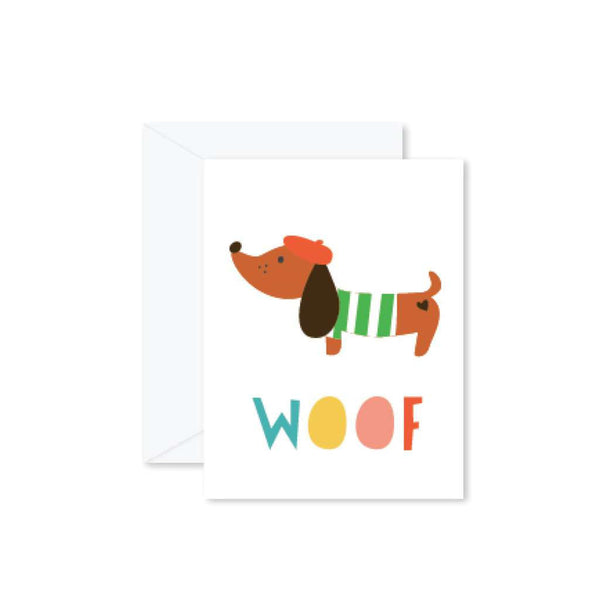 HMM Card - Woof Sausage Dog