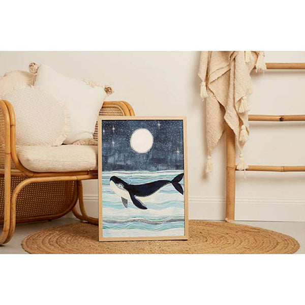 'Wylie the Whale' Fine Art Print