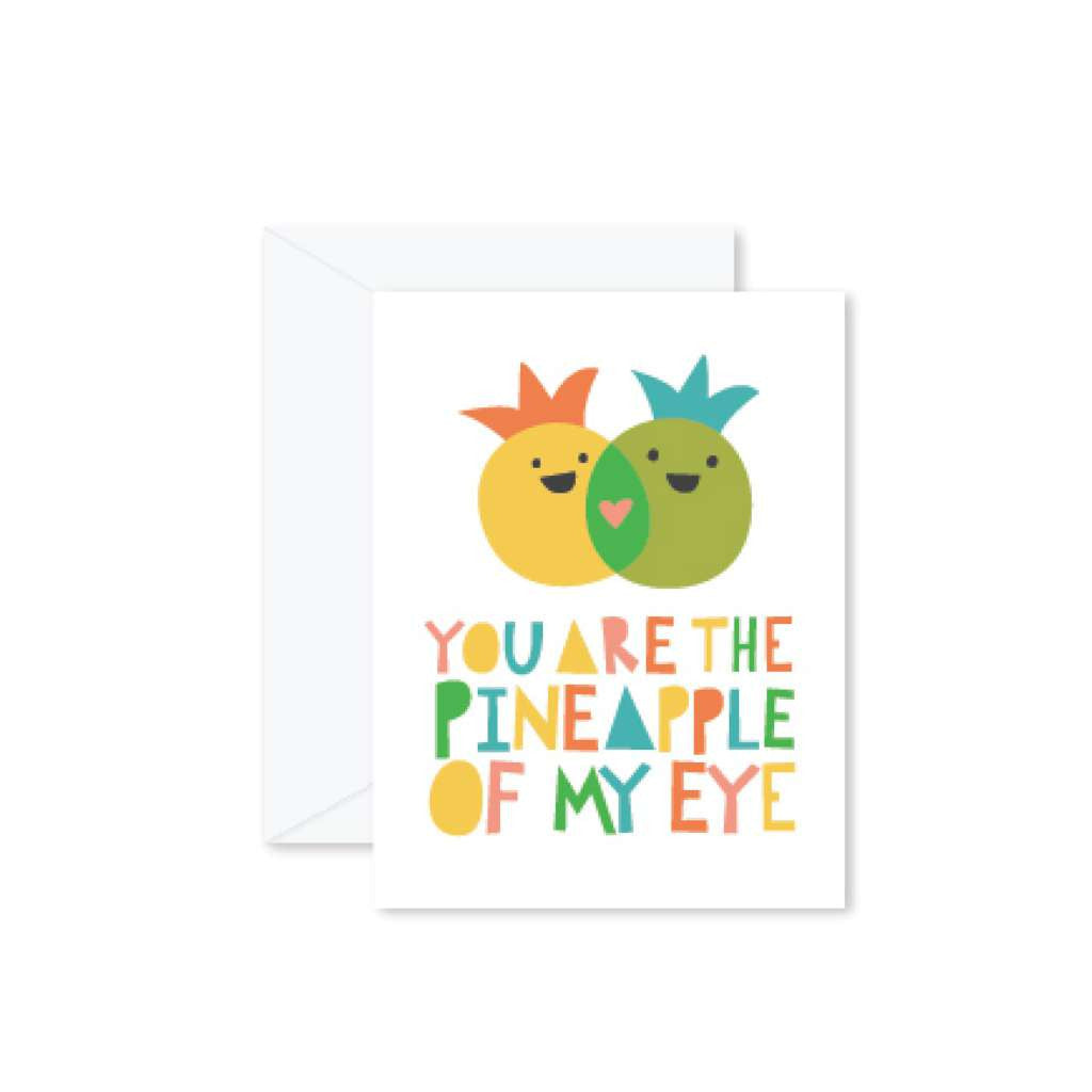 HMM Card - You are the Pineapple of my Eye