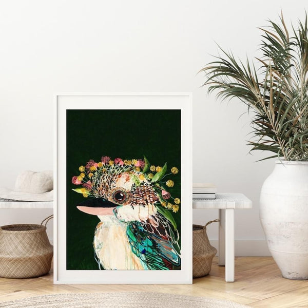 Griffin print by Grotti Lotti. Australian Art Prints. Green Door Decor. www.greendoordecor.com.au