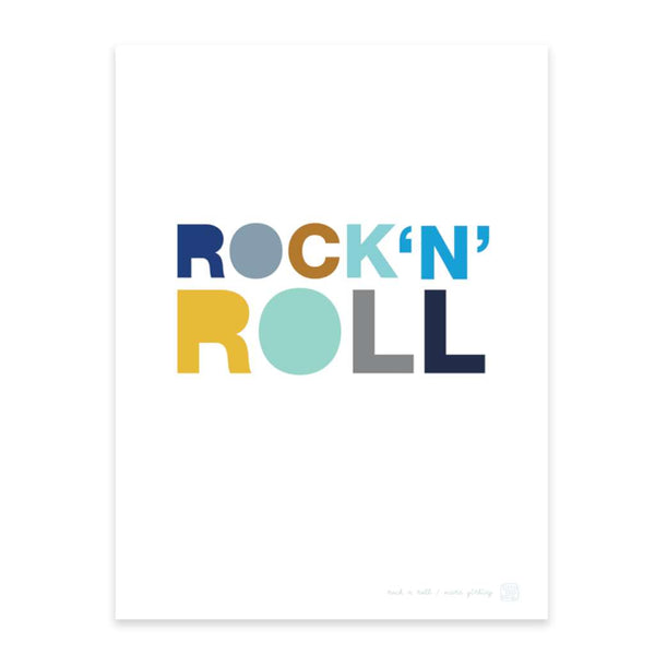 Rock N Roll, by Printspace. Australian Art Prints. Green Door Decor.  www.greendoordecor.com.au