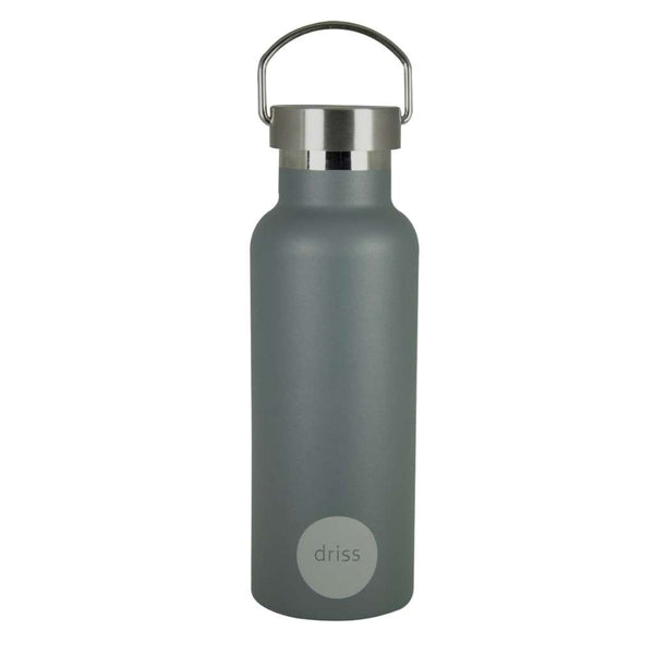 Driss Sherwood Stainless Steel Water Bottle by Porter Green. Australian Art Prints and Homewares. Green Door Decor. www.greendoordecor.com.au