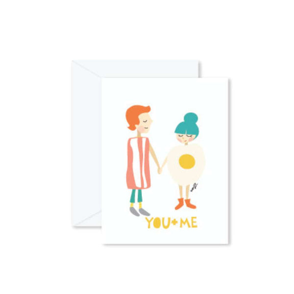 HMM Card - You + Me Bacon & Eggs