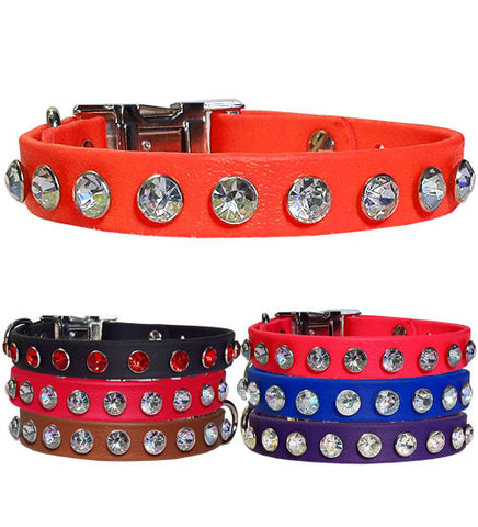 "WICKED BIG BLING SPORTs Poly Clip Collar 13""- 26"""