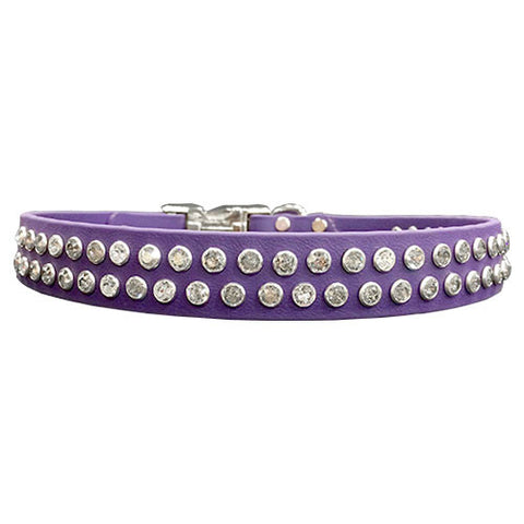 "DOUBLE SWAROVSKI SPORTs Poly Clip Collar - 13""- 26"""