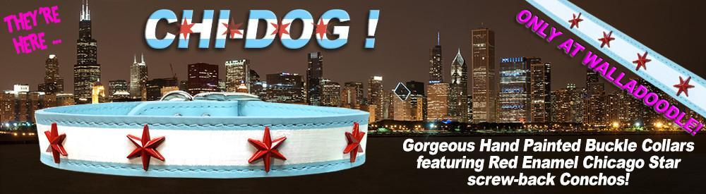 Chi-Dog Flag Collars - a Walladoodle exclusive!