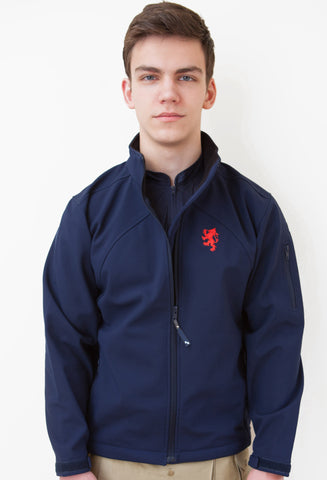 Navy TREK. Jacket -