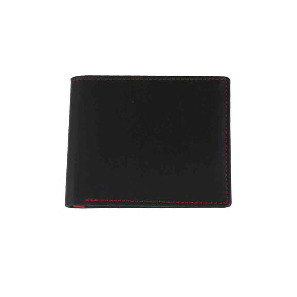 Black and Red Classic Wallet