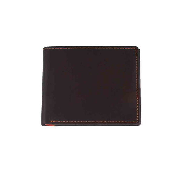 Brown and Orange Classic Wallet