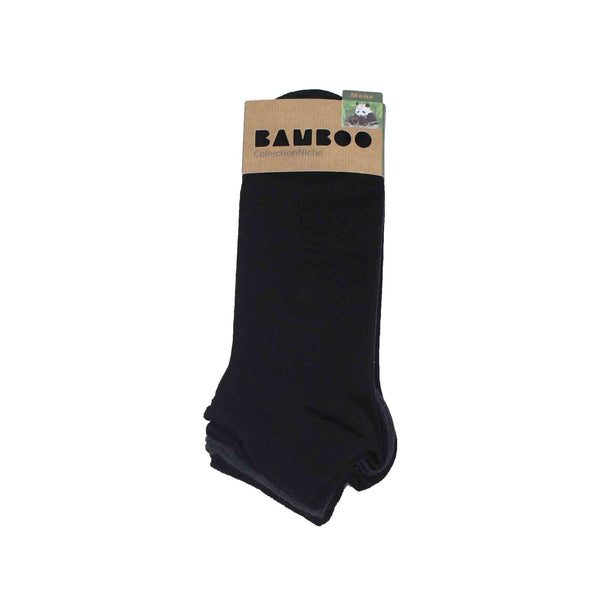 Men's 100% Bamboo Trainer Socks - Plain and Pin Dot