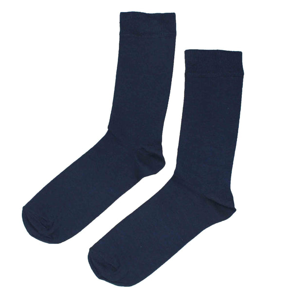 MEN'S 100% BAMBOO PLAIN SOCKS - SEA GREEN MIX - 5 PAIR PACK