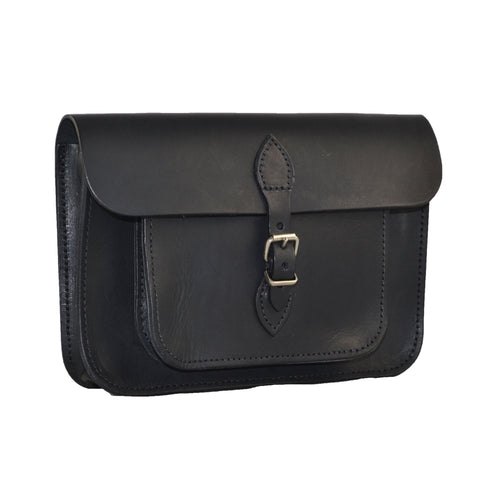 Black Satchel Bag 100% Leather