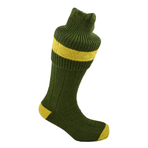 Men's Wide Stripe Top Shooting Socks