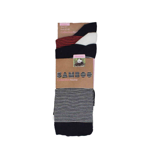 Thin Striped Soft Women's Socks