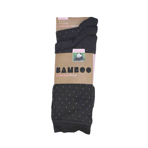 Women's Small Polka Dot Soft Socks