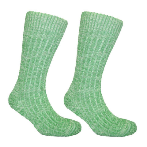 Women's Cushion Soled Sock Lime Green