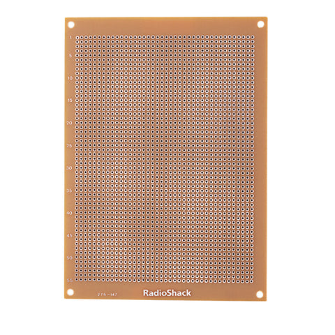 RadioShack® Grid-Style PC Board with 2200 Holes