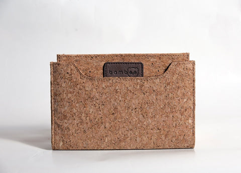 Cork wood wallet