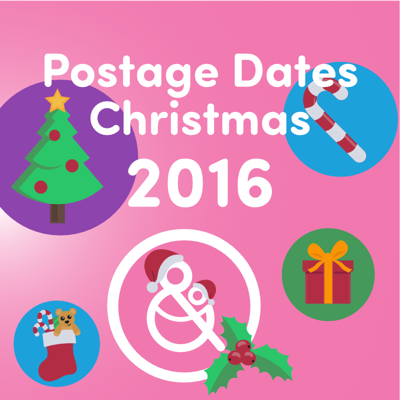 2016 Christmas and New Year Postage