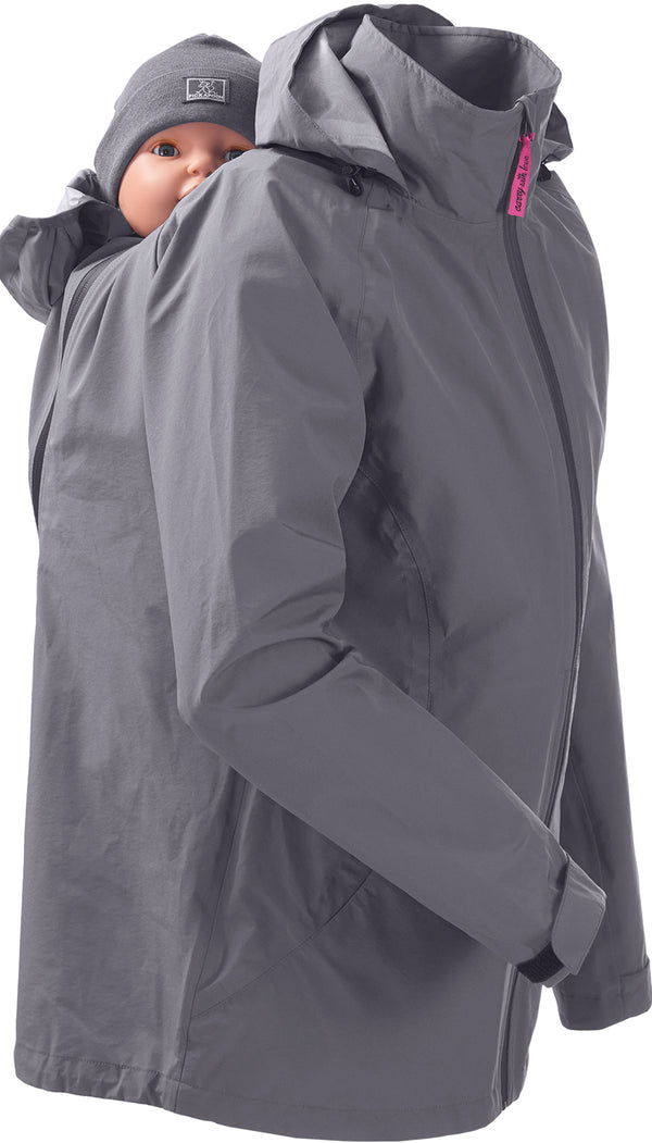 Mamalila Rain Jacket for Babywearing - Anthracite