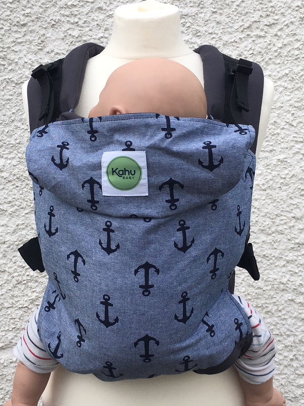 KahuBaby Carrier - Maritime - Slings and Things