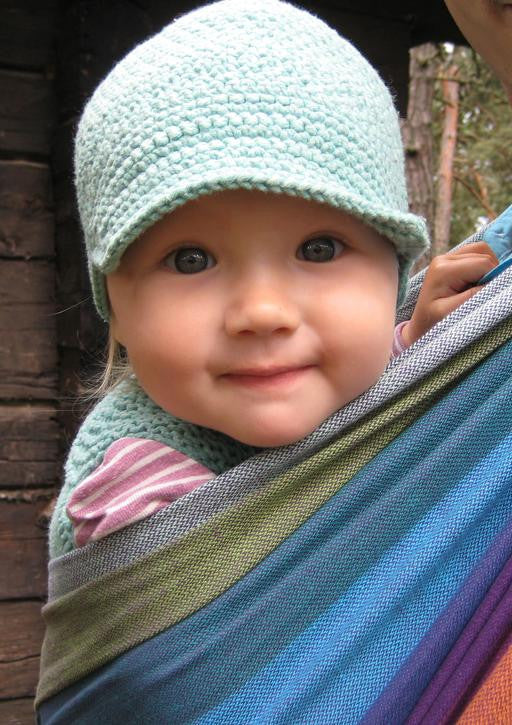 Girasol Wearababy Northern Lights - Thick Weave Woven Wrap - Slings and Things