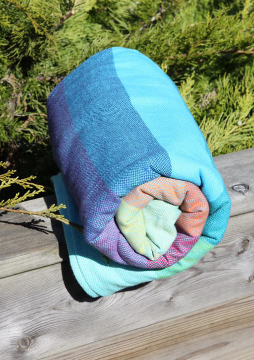 Girasol Wearababy Arctic Rainbow Woven Wrap - Slings and Things