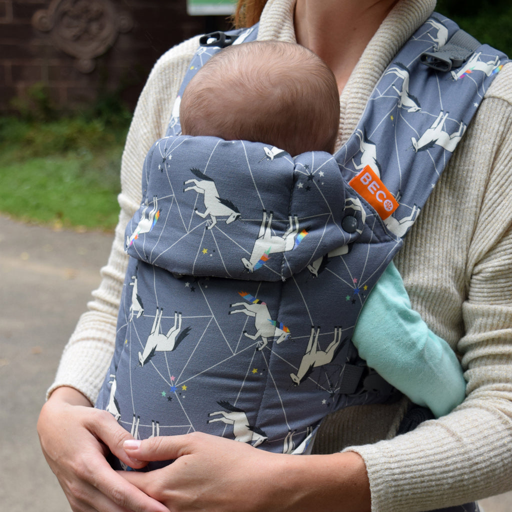 Beco Gemini Carrier - Unicorn Metallic Magic - Slings and Things