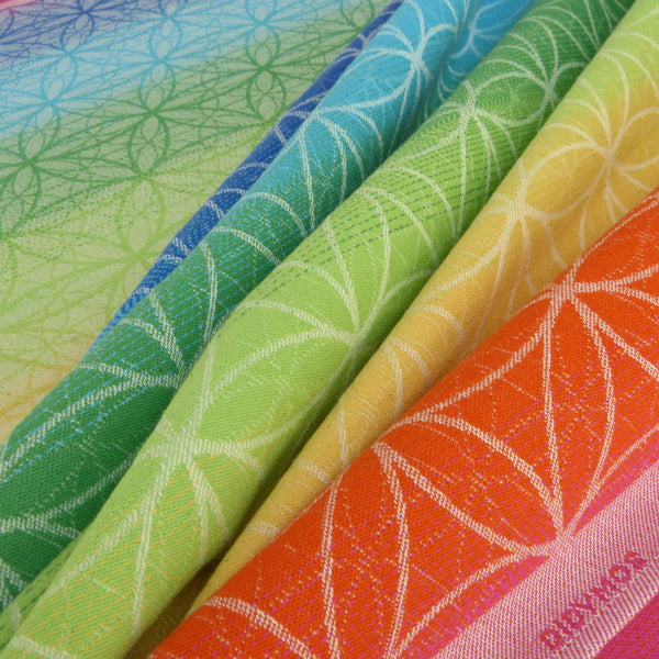 Didymos Flower of Life Rainbow - Slings and Things