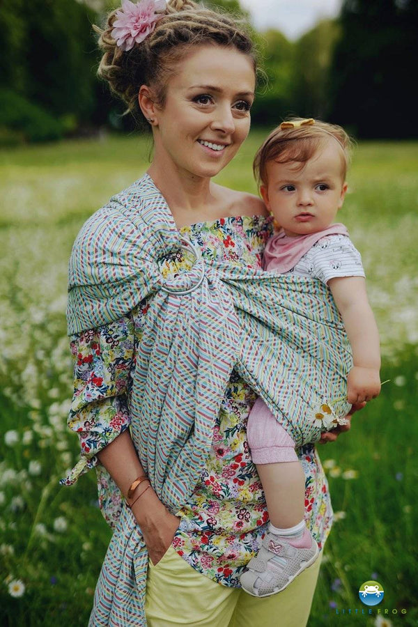 Little Frog Ring Sling - Vibrant Cube