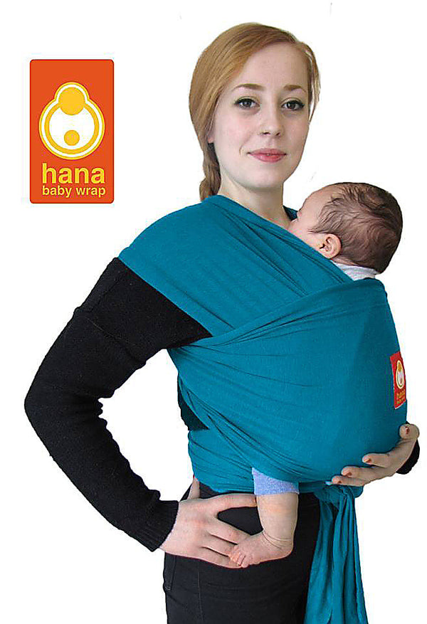 Hana Baby Wrap Organic - Teal - Slings and Things