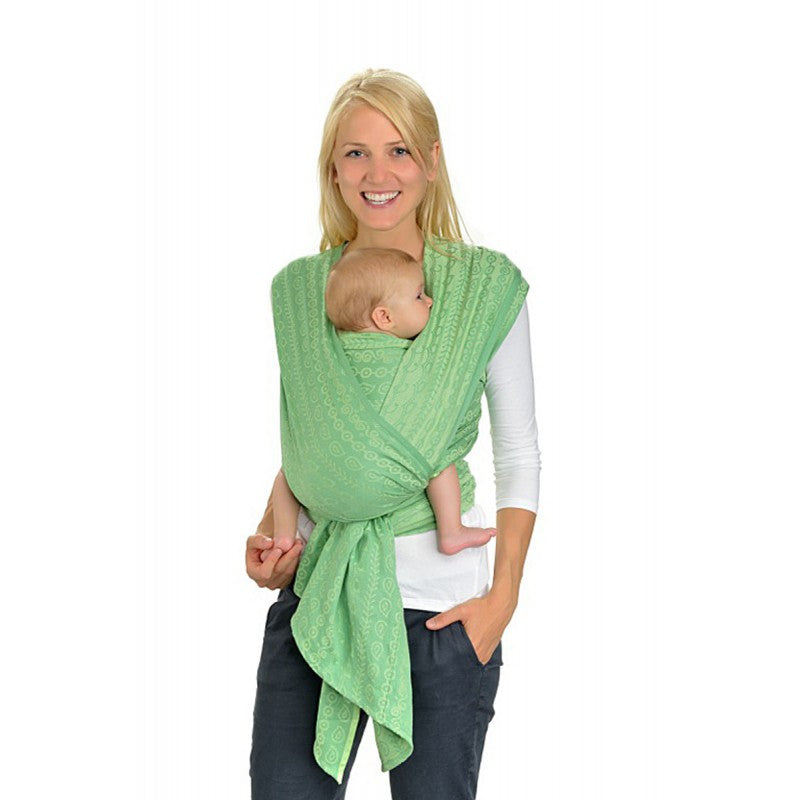 Hoppediz Woven Wrap - Darjeeling Pastel Green - Slings and Things
