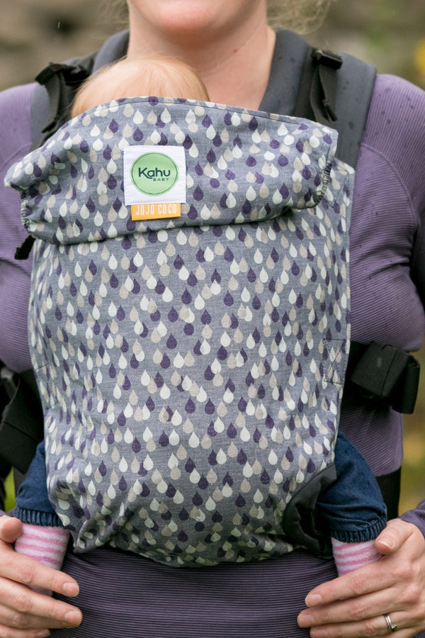 KahuBaby Carrier - Lakeland Rain - Slings and Things