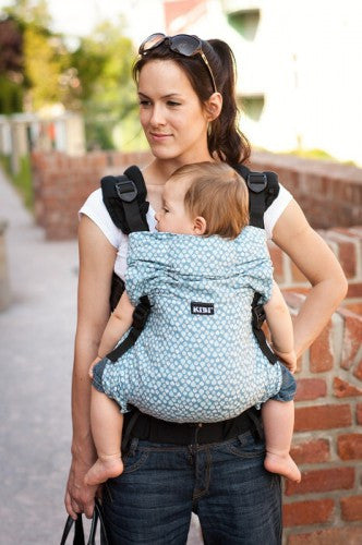 KiBi Carrier - Blue Leaves - Slings and Things