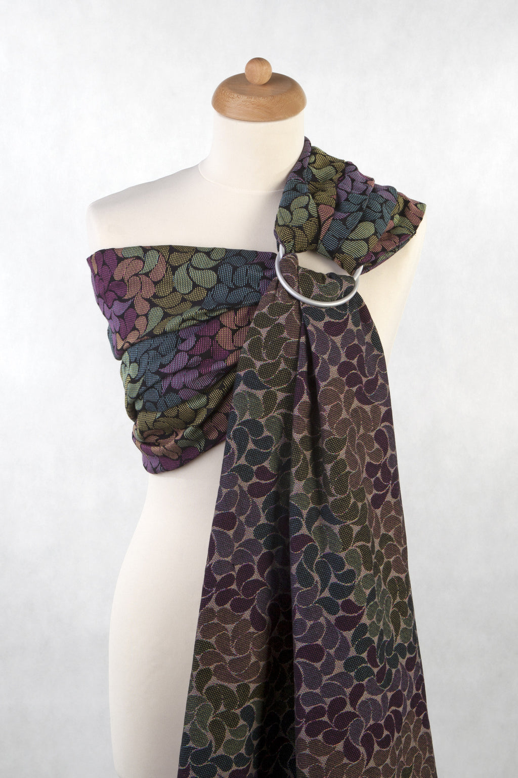 Lenny Lamb Ring Sling - Colours of Rain - Slings and Things